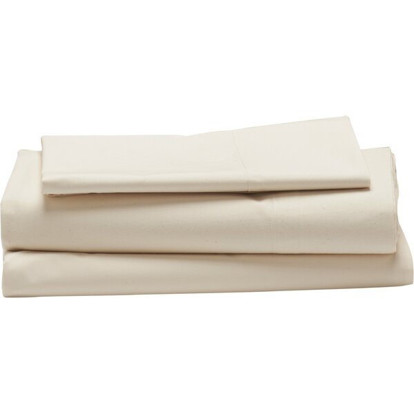 Sateen 300 Thread Count 100% Cotton Sheet Set by Coyuchi